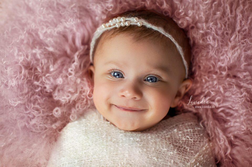 Fotoshooting für Neugeborenen und Babys