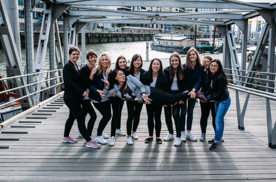 JGA mit 11 Mädels in Hamburg, Hafencity
