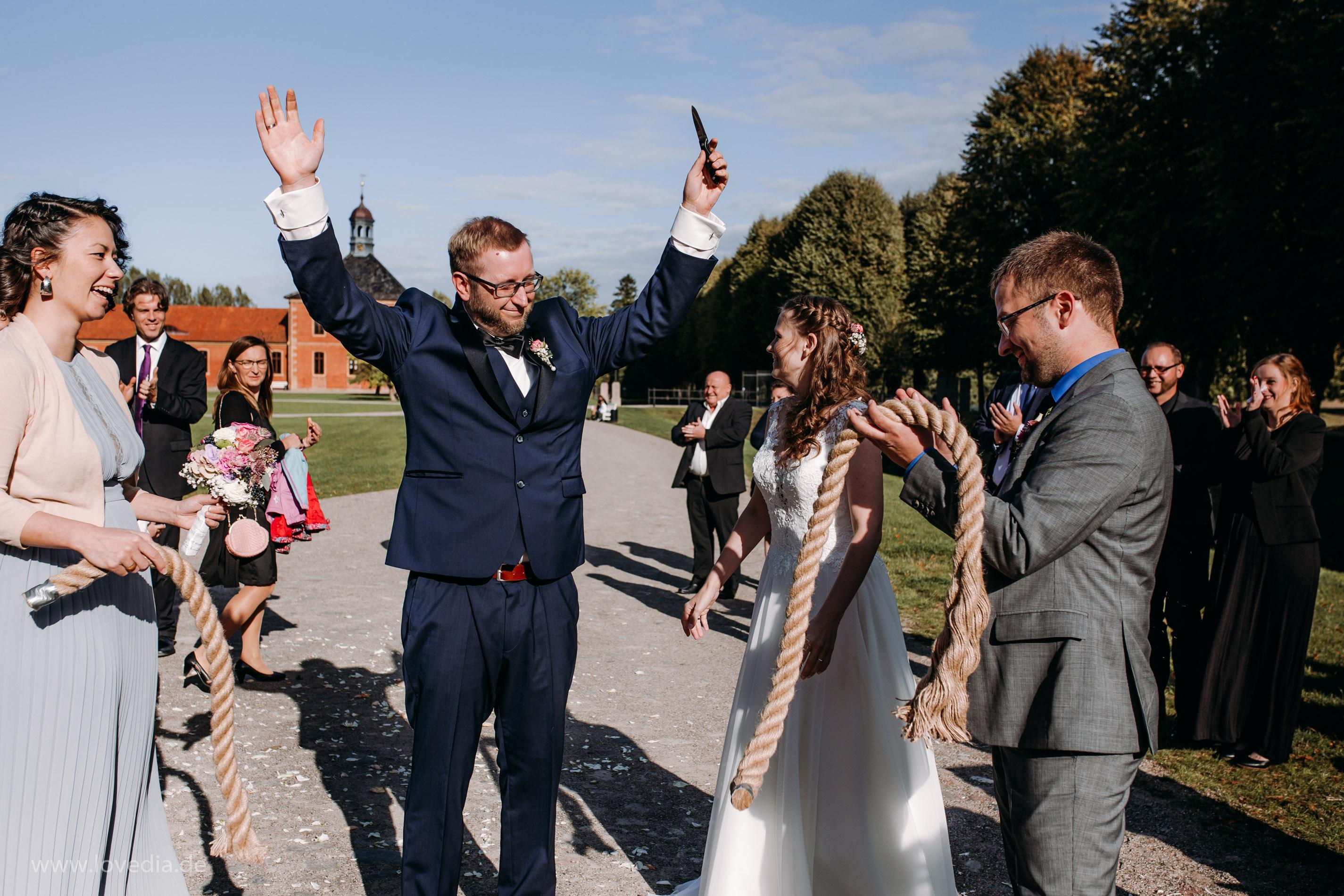 Hochzeit im Schloss Bothmer, Kluetz