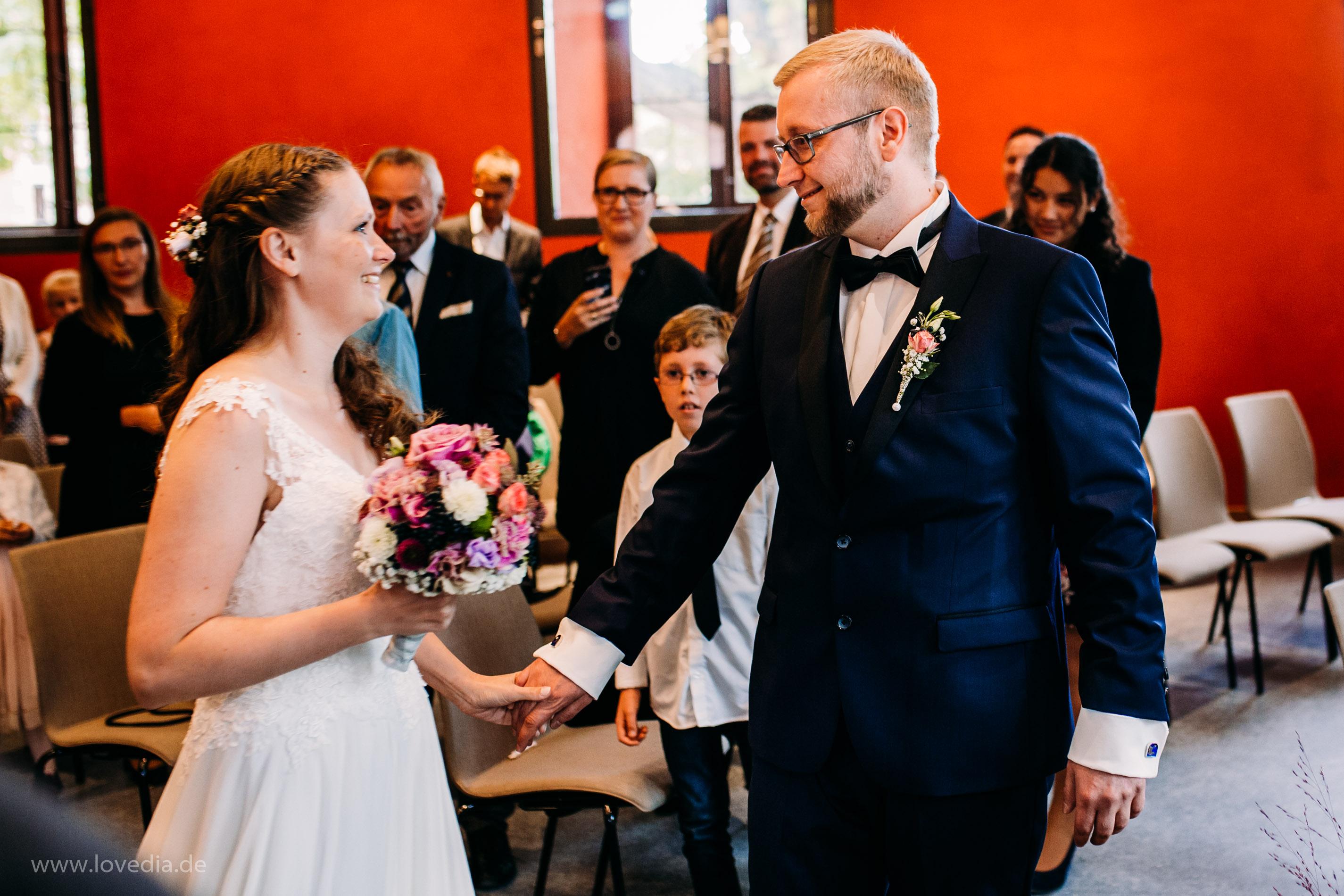 Standesamtliche Hochzeit im Schloss Bothmer, Kluetz