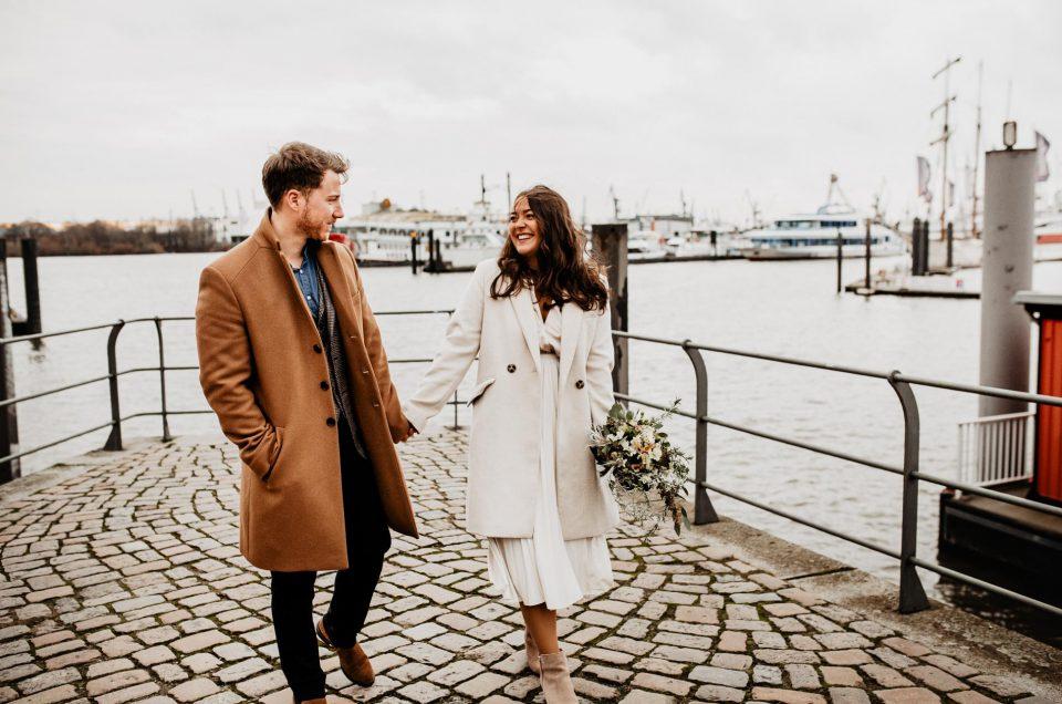 Hochzeitsbilder in der Hafencity, Hamburg